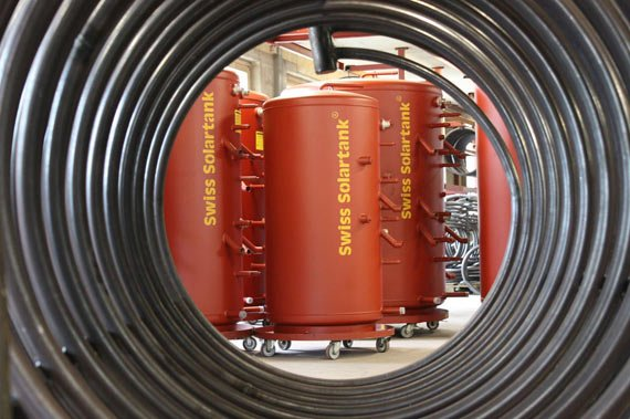 hot water storage systems thermal stores