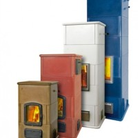 Masonry Stove Heaters in 4 Sizes