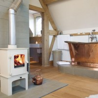 White Wood Burning Stoves