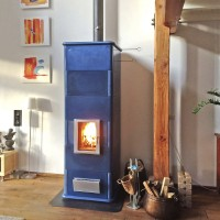 Wall Mounted Masonry Stove Heaters