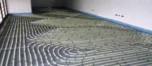 pipework underfloor