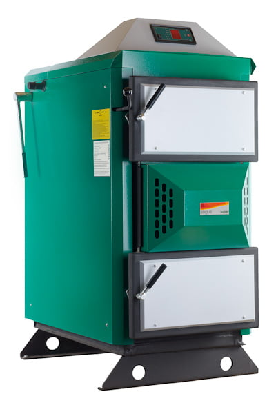 EcoAngus Wood fired boiler