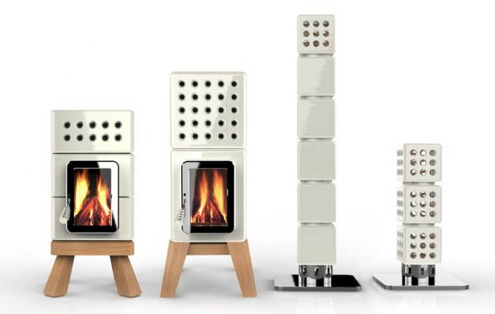 Stack Stoves by La Castellamonte
